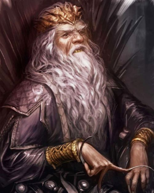 "The World of Ice and Fire - The Mad King, Aerys II "" Whilst his attendance made the Harrenhal tourney even grander and more prestigious than it already was, drawing lords and knights from every corner of the realm , many of those who came were..."