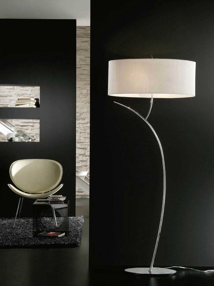 Die Besten 25+ Stehlampe Schwarz Ideen Auf Pinterest | Der ... Moderne Wohnzimmer Stehlampe