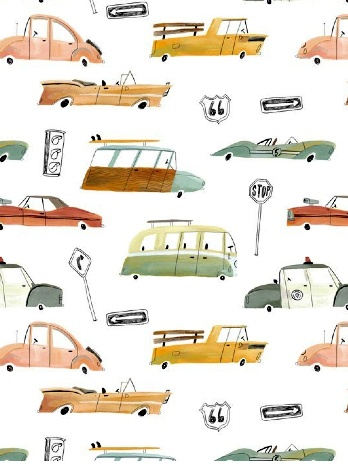 ©Mark Hoffman www.i2iart.com #pattern #surface design #boy's bedding