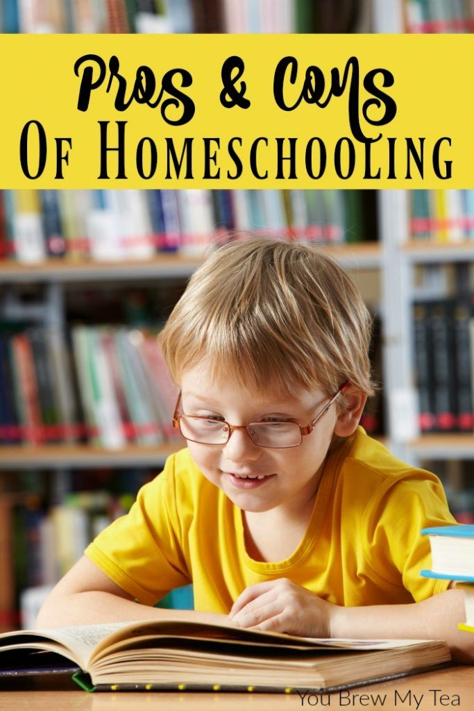 20 Major Pros And Cons Of Homeschooling