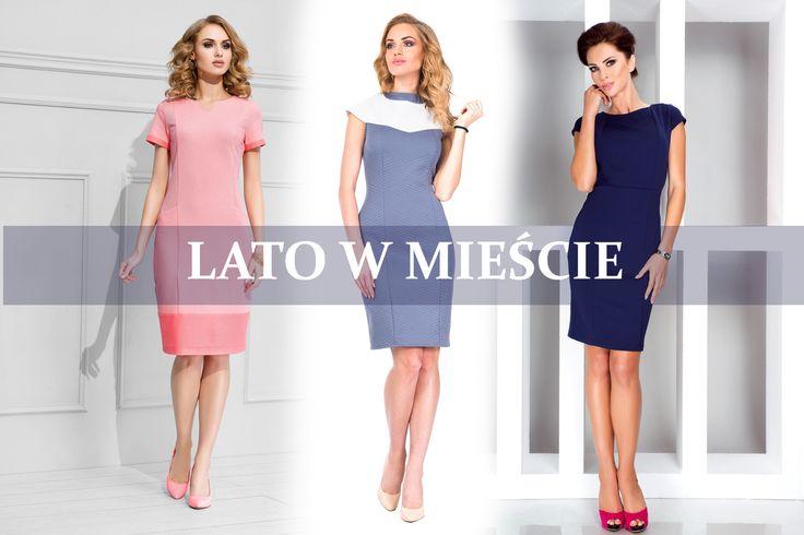 Kolejna porcja sukienek, które są wprost wymarzone do pracy. Biurowe zasady nie przestają obowiązywać w największe upały. Pamiętajmy  starej maksymie: Jak Cię widzą, tak Cię piszą.  http://www.grandesaldi.pl/sukienka-o-zabudowanym-fasonie http://www.grandesaldi.pl/elegancka-olowkowa-sukienka http://www.grandesaldi.pl/sukienka-z-pionowymi-przeszyciami
