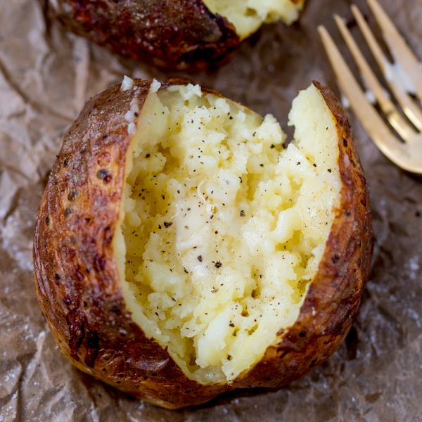 25 b sta jacket potato recipe id erna p pinterest middagar for Jacket potato fillings mushroom