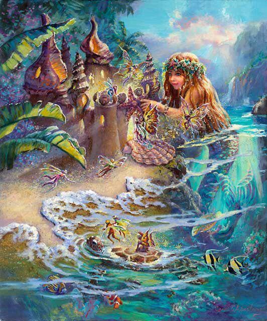 818 Best Mermaids, Selkies And Sea Creatures Images On
