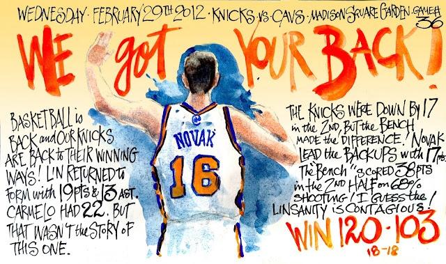 Steve Novak aka Novakaine!