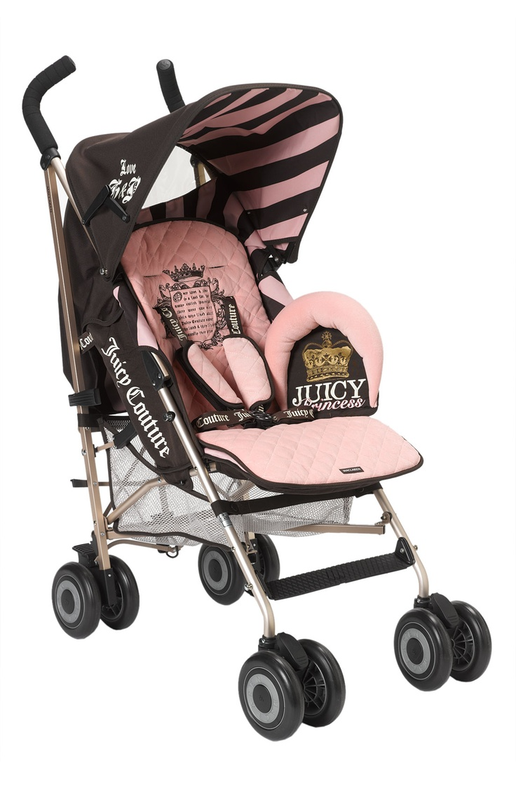 Wow! Juicy Couture Stroller! I think I really need a girl