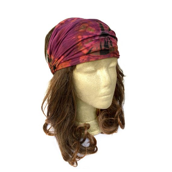 Bandana Hair Covering Yoga Headband Hair Bandanas by curtainroad