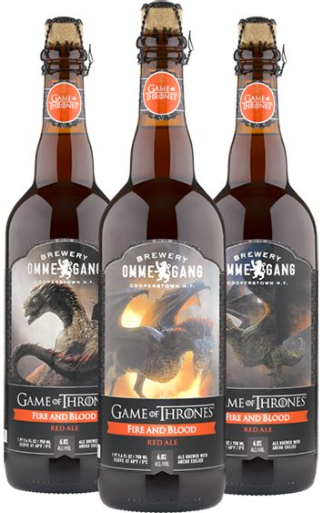 Game of Thrones, Liquid Merchandising - not a first, but still brilliant.