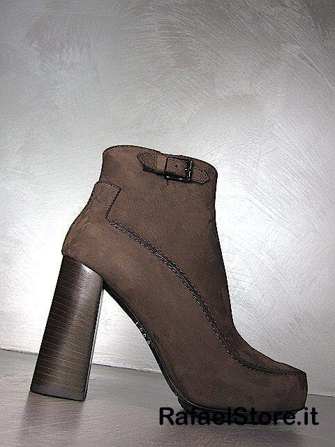 Chaussures Bottes De Cheville Femmes TOD'S Fashion Tronchetto Chamois Brun Luxe in Vêtements, accessoires   eBay