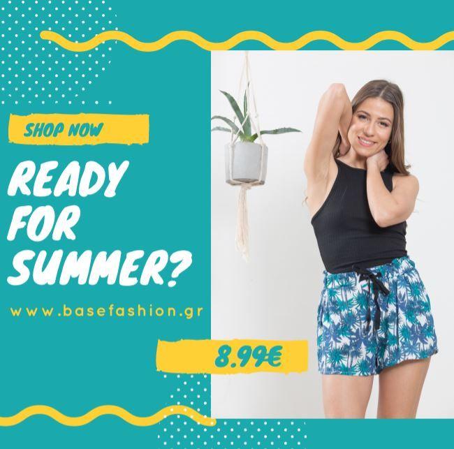 📢READY FOR SUMMER?🍍 🌴Άκρως καλοκαιρινά σορτς με φοίνικες!!!🌴 🛒ΤΙΜΗ :8.99€ #fashionista #instyle #fashionaddict #shorts #totallook #passionforfashion #fashionlover #fashionablelife #newcollection #stylediary #summer #shoppinstar