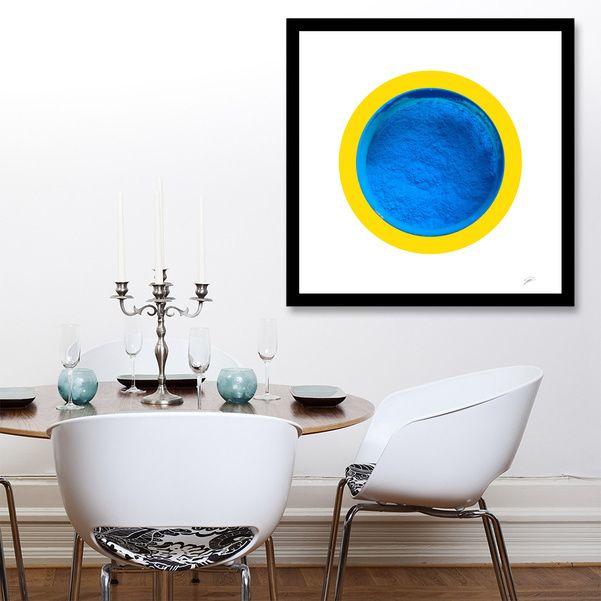 Découvrez «Pigment Bleu de Manganèse», Édition Limitée Affiches d'art par David Damour - À partir de 27€ - Curioos