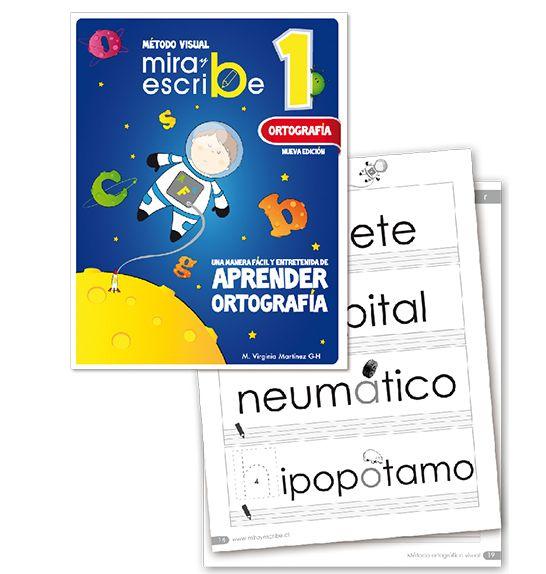 Libro Ortografía Mira Y Escribe 1 -> http://www.masterwise.cl/productos/14-lenguaje-y-comunicacion/1915-libro-ortografia-mira-y-escribe-1