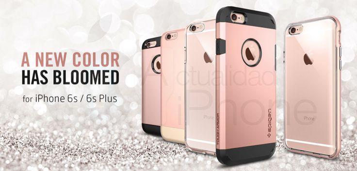 ¿Nos está diciendo Spiegen que sí habrá iPhone 6s Rosa? - http://www.actualidadiphone.com/habra-iphone-6s-rosa-segun-el-fabricante-de-fundas-spiegen/