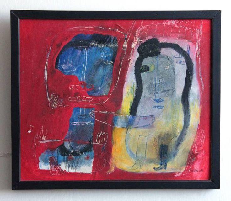 """Saatchi Art Artist deny pribadi; Painting, """"hug"""" #art"""