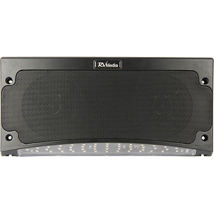 King Outdoor Bluetooth Speaker & Awning Light - Black