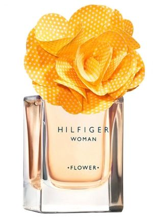 Flower Marigold Tommy Hilfiger--loral-fruity with refreshing and sensual tones. The top notes include juicy and fresh orange, berries and mandarin. Jasmine, freesia, lily of the valley and musk are at the fragrance's heart, laid on the base of sandalwood, cedar, vanilla and amber.
