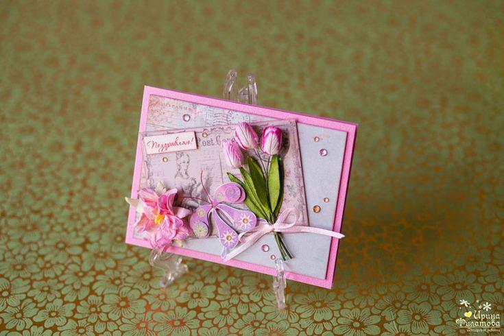 Весна на Sees All Colors: Праздничные открытки Авторской мастерской Ирины Филатовой