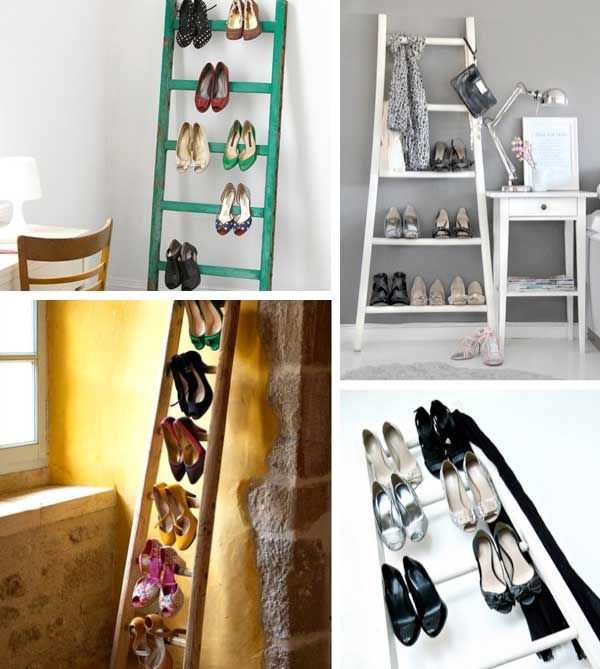 Ladder Shoe Racks
