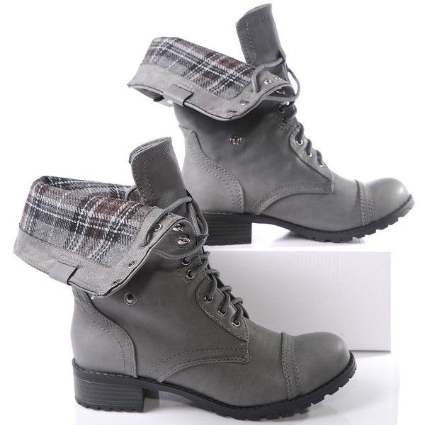 Marco Republic Expedition Womens Military Combat Boots ($20) ❤ liked on Polyvore featuring shoes, boots, army military boots, military style boots, army boots, chukka boots and women shoes