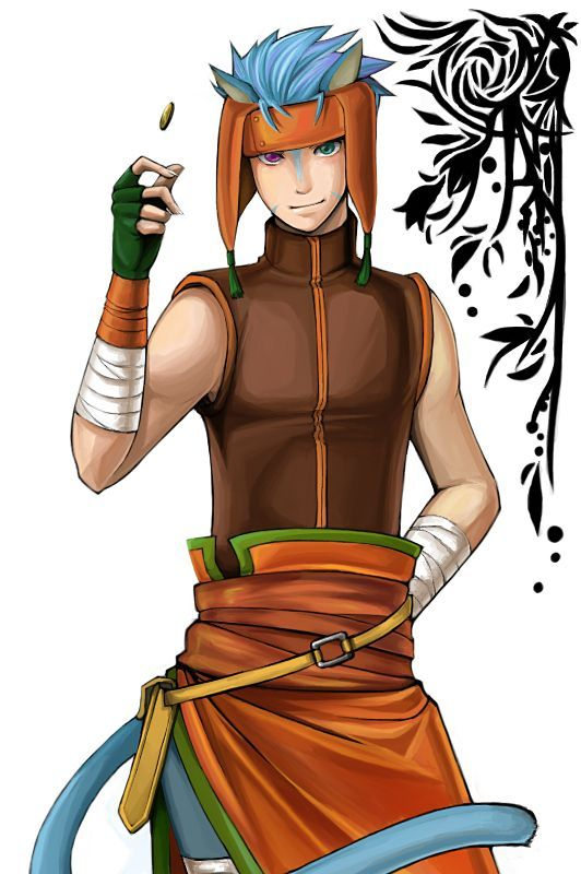Fire Emblem Path of Radiance- Ranulf