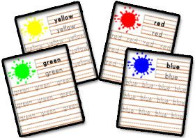 Learning Colors - Colors Worksheets