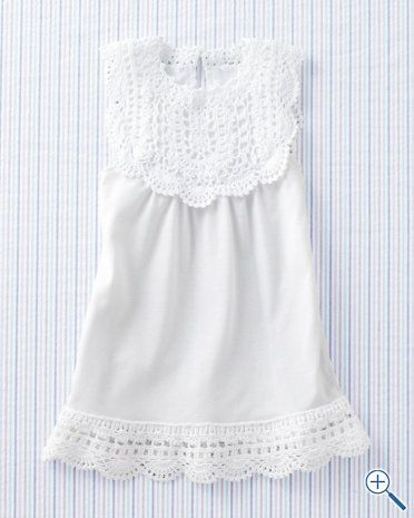 beautiful crocheted pima dress - perfect for summer