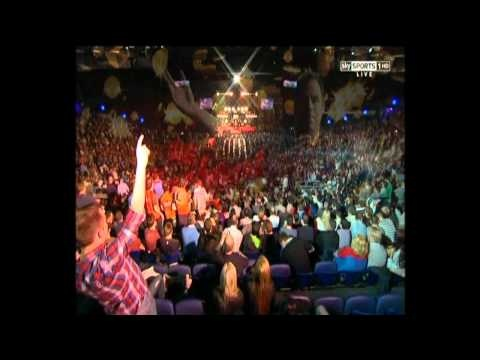 2012 Premier League Darts Walk On's   What's your song