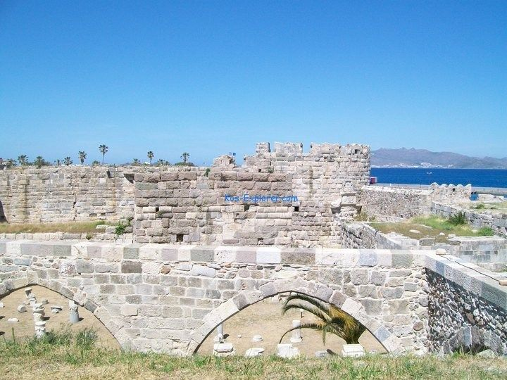 Castle of the Knight, Kos town. Read more here:  #castle #kos #greece #history #culture