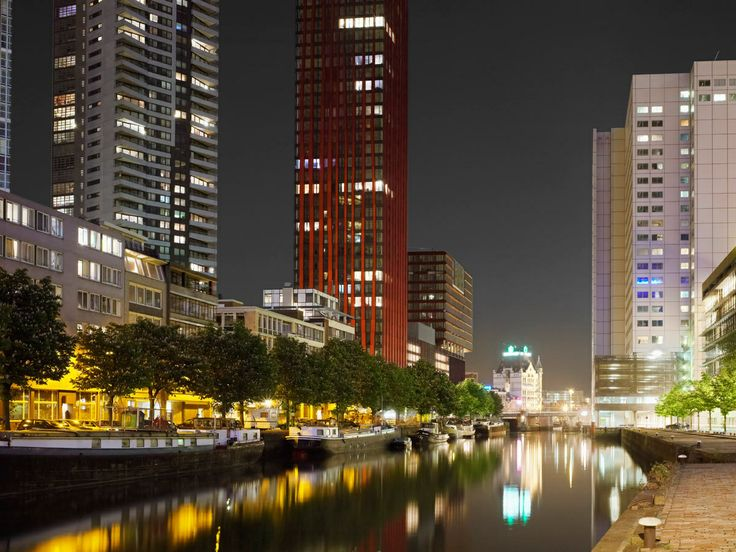 #Rotterdam #Red Apple #Architecture