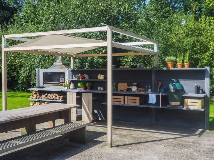 WWOO outdoor kitchen in anthracite with the WWOO canopy & 133 best Customize WWOO images on Pinterest