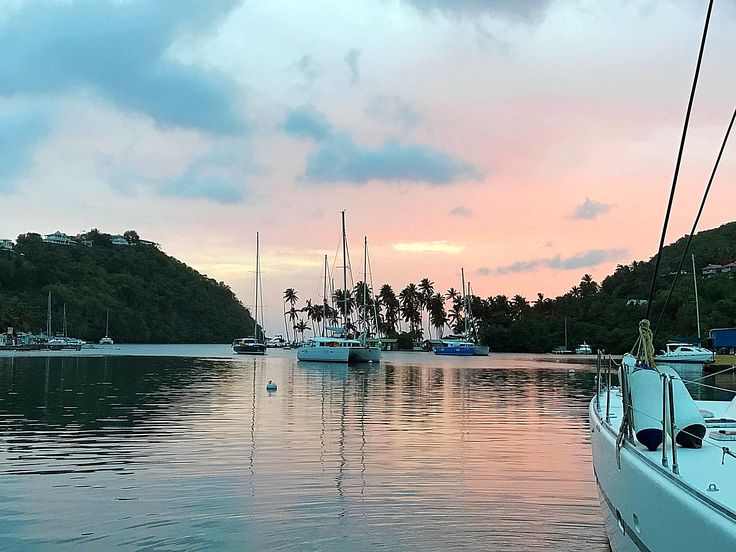 Marigot Bay, St. Lucia, French West Indies