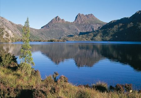 Cradle Mountain, Tasmania, Australia - there is a great walk up to the summit, which rewards you with stunning views