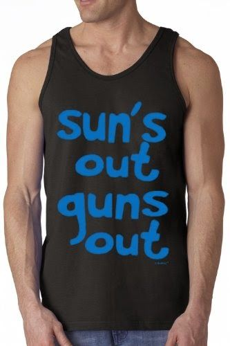 BeWild Brand ® - Sun's Out Guns Out Tank Top #B426-PS Big SALE - Best Releases PRO