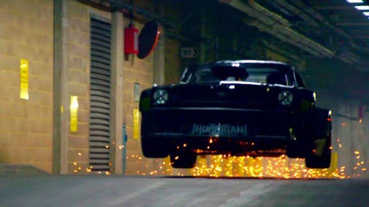 Ken Block Drifts London – with Matt LeBlanc EXTENDED Director's Cut - Top Gear - BBC