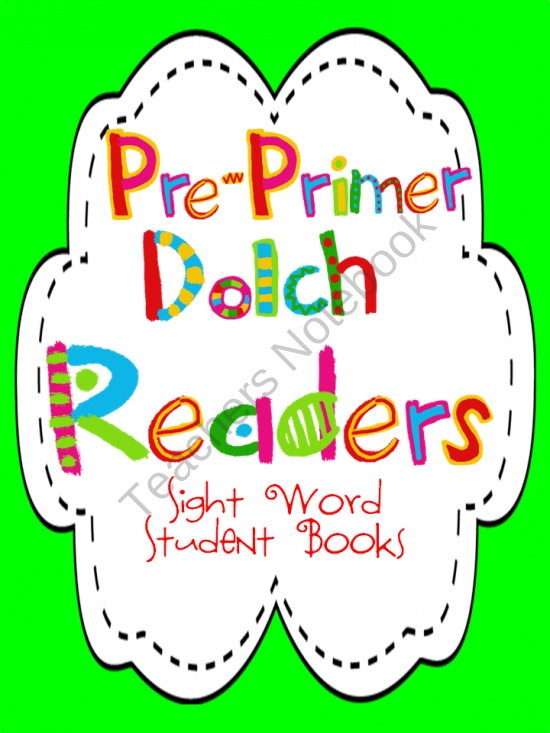 FREE! Go Sight Word Reader-PrePrimer Dolch from Lovely Literacy More on TeachersNotebook.com (4 pages)  - Learning sight words is a key component in all grades, especially in the early grades. It can be very difficult for some students. My students learn sight words best with these sight word readers. They love that they get to write in the sight words to com