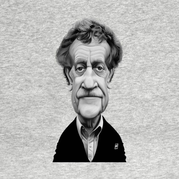 Check out this awesome 'Kurt+Vonnegut' design on @TeePublic! art | decor | wall art | inspiration | caricature | home decor | idea | humor | gifts