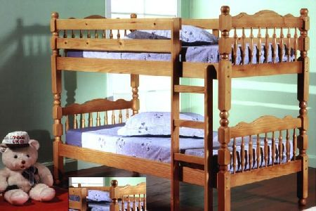 Bedworld Discount Weston Pine Bunk Bed Single 90cm Traditional bunk bed can be used as 2 x 3ft single beds in a honey pine finish. http://www.comparestoreprices.co.uk/bunk-beds/bedworld-discount-weston-pine-bunk-bed-single-90cm.asp