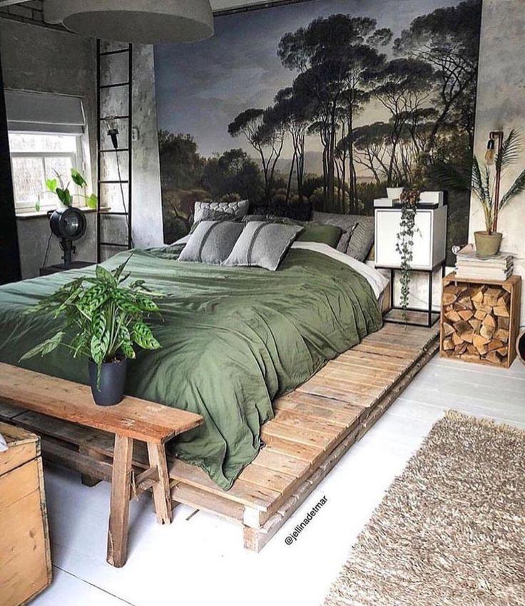 House Inside Design – Chambre de model bohème à Kollam, Pays-Bas.