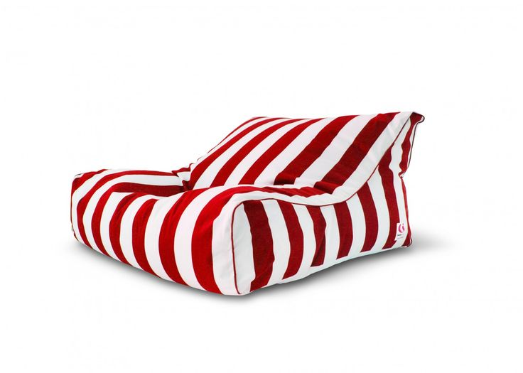 St Tropez Striped Bean Bag Cover BeansIndoor Outdoor FurnitureOutdoor LoungeOutdoor ChairOutdoor