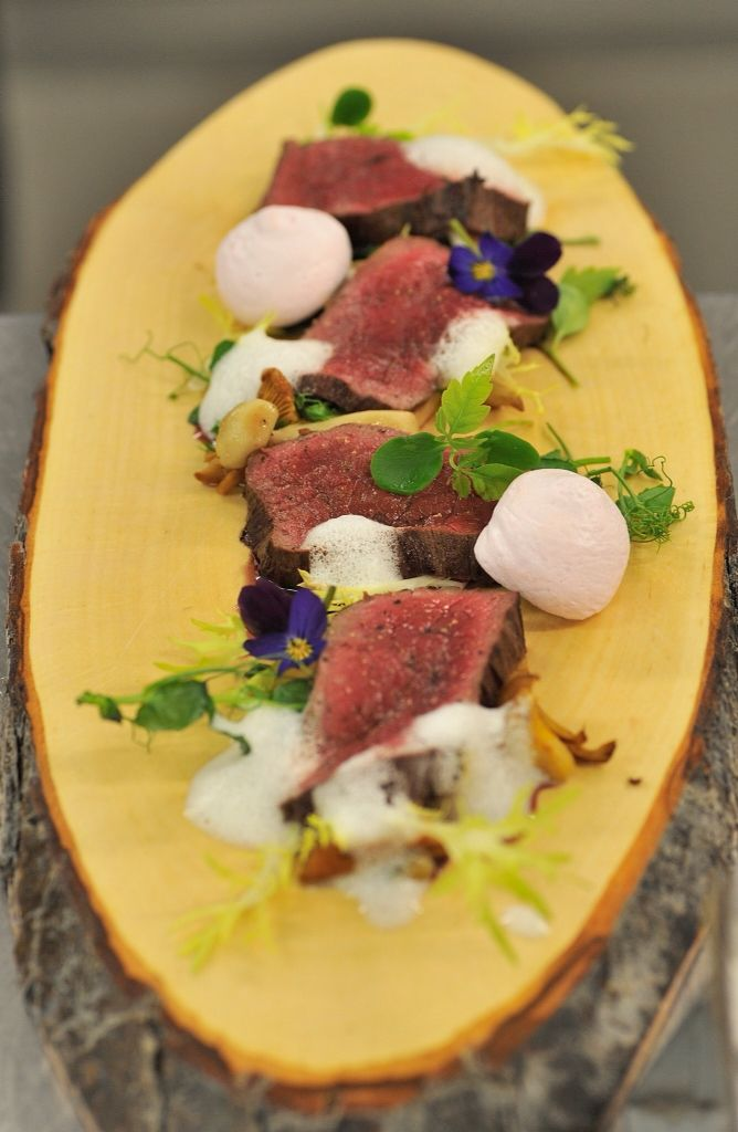A combination of flavours to create not only a dish but also an experience @De Boschvijver