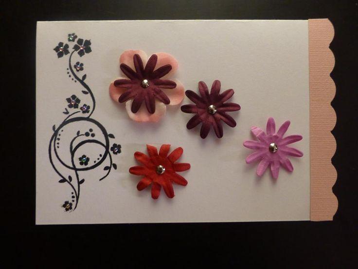 Spring card #spring #card #přáníčka #jarní #flower #květiny
