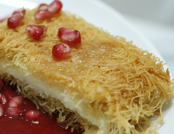 I swear I would come back to Egypt just for the sole purpose of tasting the real kunafa again. That, and Egyptian rice.