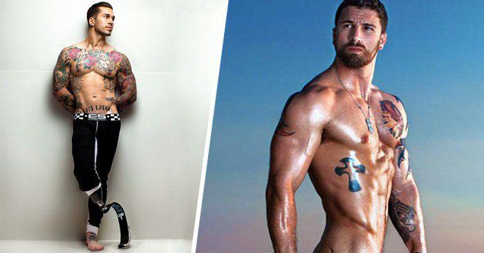 Michael Stokes es un fotógrafo que realizó una serie de fotografías a veteranos de guerra que fueron amputados, ellos muestran con orgullo sus lesiones