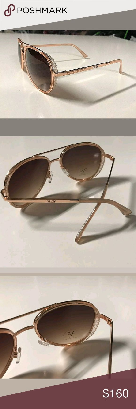 💥NEW💥 Versace Aviator Sunglasses Beautiful Versace Aviators. I no longer take offers. If you want a discount please use my bundle option. Please see all photos for full description and details. Versace 19.69 Accessories Sunglasses