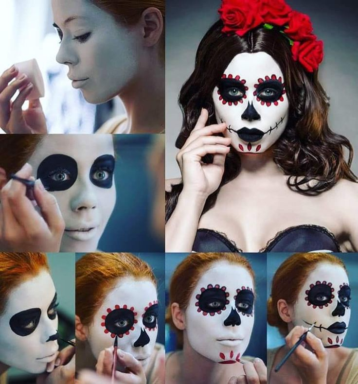 Crazy Halloween Decorations: Best 25+ Crazy Halloween Makeup Ideas On Pinterest