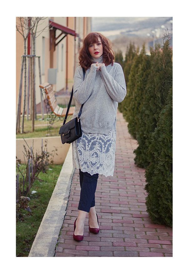 lace over pants story