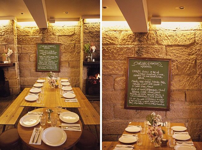 The Wedding Menu at The Commons, Sydney