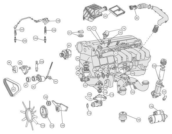 50 Mercedes Ml320 Parts Diagram Vb6b di 2020
