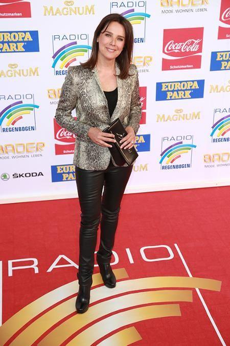 """Luxemburger A-List actress/host Desiree Nosbusch attends """"Radio Regenbogen Award"""" at Europapark Rust/Germany, 04/24/2015"""
