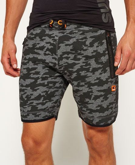 Superdry Pantalones cortos ajustados Gym Tech Negro