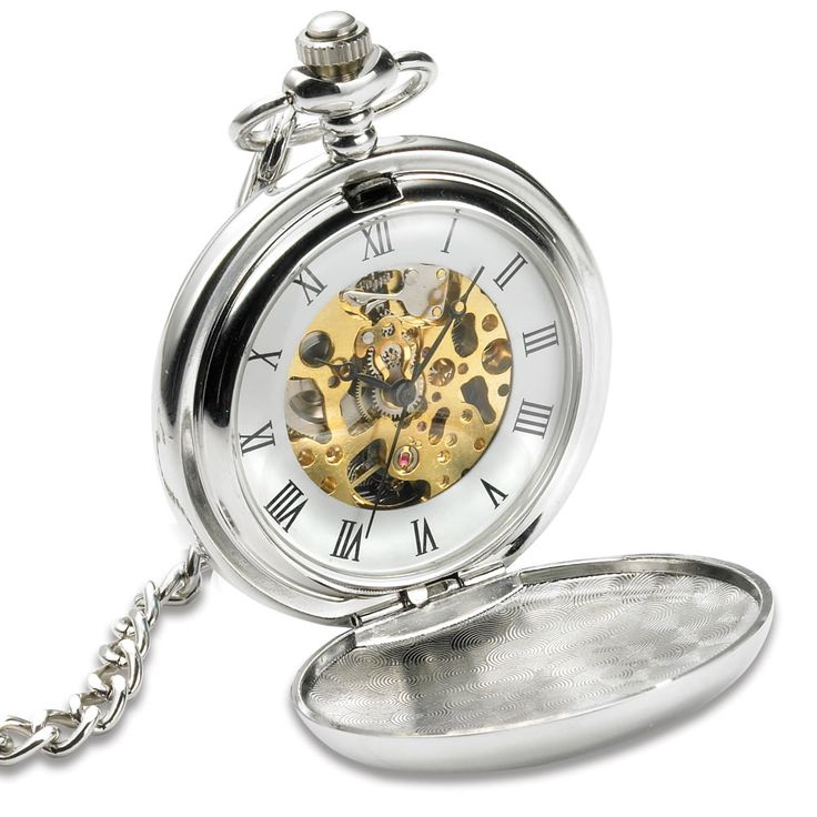 The Celtic Pocket Watch - Hammacher Schlemmer. Not technically Doctor Who, but the visible inner workings remind me of Gallifreyan.